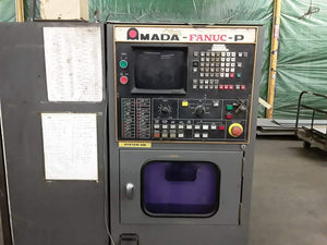 33 Ton Amada Pega 344 Q CNC Turret Punch 1983, Tooling Included