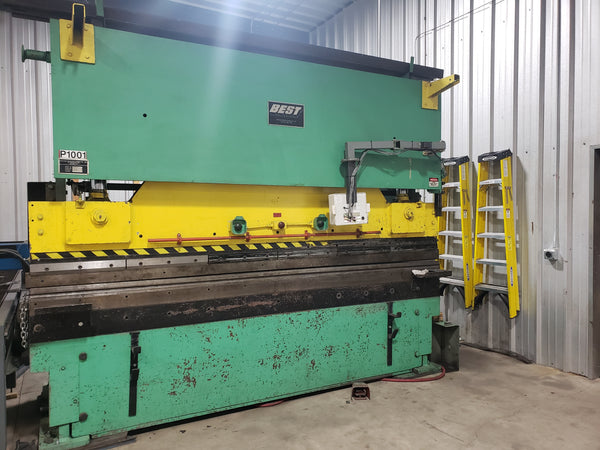 200 Ton 12' Graham Best C200-12  Press Brake, Underpower