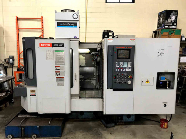 1998 Mazak HTC-400 Horizontal Machining Center