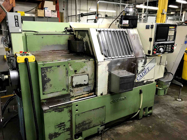 1993 Okuma Cadet LNC-8 with LNS Bar Feeder