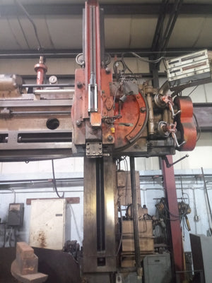 "72"" King VTL Boring Machine, 60"" H Under The Rail"
