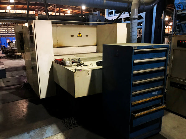 1994 1500 Watt Mazak Super Turbo X510 Laser