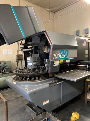 20 Ton Strippit 1000/20XP CNC Turret Punch, 1996 - 20 Station, 2 Auto-Index