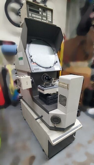 "Mitutoyo PH-350 14"" Optical Comparator With Mitutoyo Accessories"