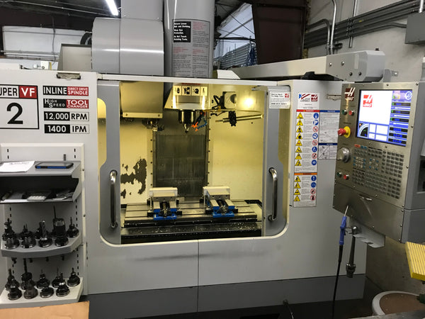 2007 Haas VF-2SS VMC - Video available