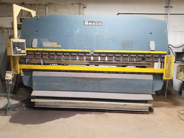 100 Ton x 13' Amada RG-100L Press Brake, 1984- Tooling Included, Issues with CNC