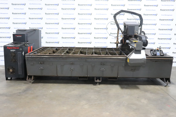 Multicam 3204-P Series High Definition Plasma Cutter, 2011 - 5' x 10' Water Cutting Table, HyPerformance HPR130XD