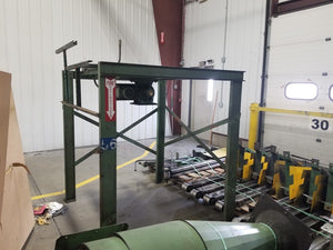 1995 B&O CNC industrial Extrusion Metal Automatic Saw with Bar feed and Chips system