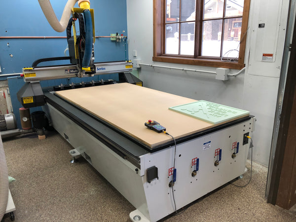 MultiCam 3000R M2621 CNC Router, 2015 - 4'x8' Table, 24,000 RPM