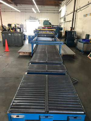"60"" Iowa Precision CTL Model 6012 Cut To Length Line- 20,000 lbs Coil Capacity"