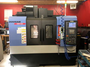 2012 Doosan DNM 400 Renishaw Probe