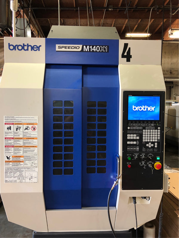 Brother Speedio M140X1 5-Axis Vertical Machining Center, 2014