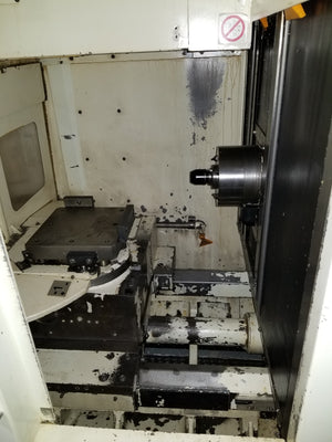 Kitamura HX250iF HMC, 2007 - Full 4th Axis Table, Fanuc 18i MB