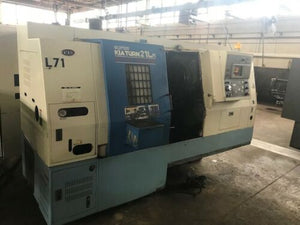 Kia Super Kia Turn 21L CNC Lathe, 2002 - Bar Feeder, Tailstock