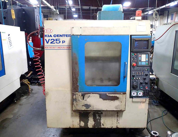 Kia Center V25P Vertical Machining Center