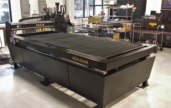 4' X 8' Komatsu Rasor Plasma Table KCR-0448, Refurbished 2020