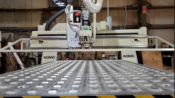 Komo VR 508 MACH ONE CNC Router, 2002