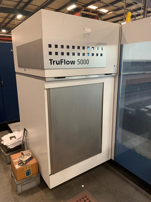 5000 Watt Trumpf 3030 L20 CO2 Laser, 2011-5'x10', Liftmaster