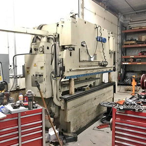 1992 LVD 110 Ton x 10ft Press Brake, MNC 95 Multi Axis CNC Control