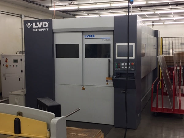 LVD Strippit LYNX FL 3015 Fiber Laser, 2017 - 5' x 10' Table, 4000 Watt Fiber