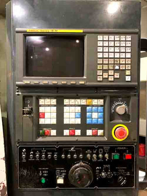 Leadwell V40 VMC, 2000 - Chip Conveyor, Fanuc Control!
