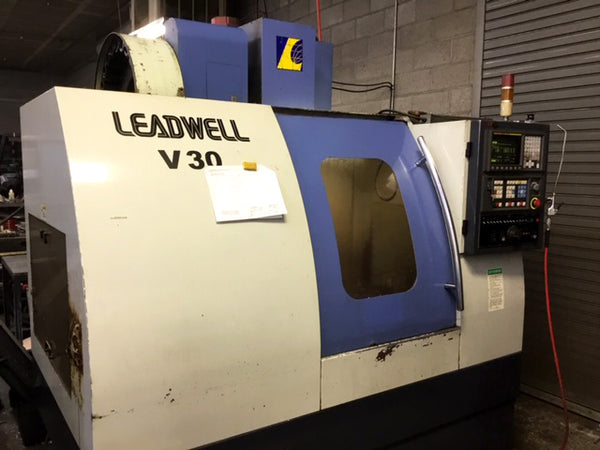 Leadwell V30  Vertical Machining Center- 2000, Fanuc 21-M