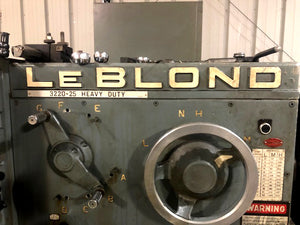 "LeBlond 3220-25 HEAVY DUTY 36"" x 240"" Engine Lathe"
