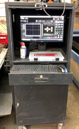 2017, Lincoln Electric Flexcut 125 Plasma Cutter- 5' x 10' Table, Low Hours