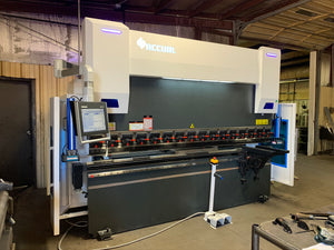 150 Ton X 10' Accurl Genius Pro CNC Press Brake, 2020- Demo Machine, 5-Axis