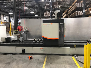 Elumatec SBZ-140 4-Axis Machining Center, 2014- 9.7 Meter Bed Length, Low Hours