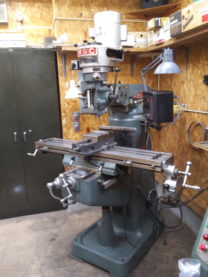 "MSC 9"" x 49"" Knee Mill, 1992 - Bridgeport Clone"