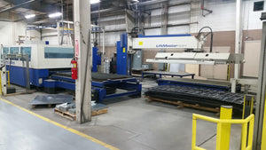 (2) 5000 Watt Trumpf CO2 Lasers & Stopa Storage/Retrieval System, 2003-2004 - Complete Package