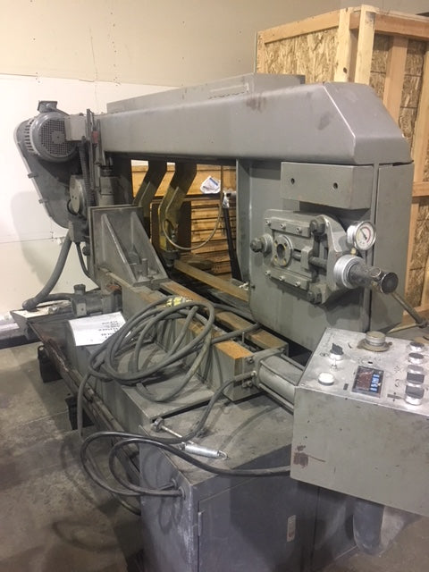 "18"" X 27"" Saber DM-18SA Horizontal Band Saw, 2012"