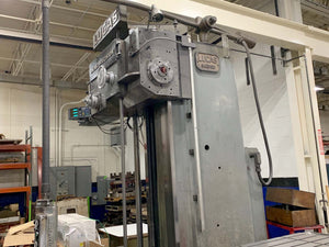 Lucas 542B-120 Horizontal Boring Mill, 1966- DRO, Glass Scales, MUST MOVE!