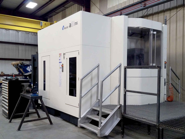 Makino A81-NX Horizontal Machining Center, 2017- Pro6 Control, Full 4th, TSC, Low Hours