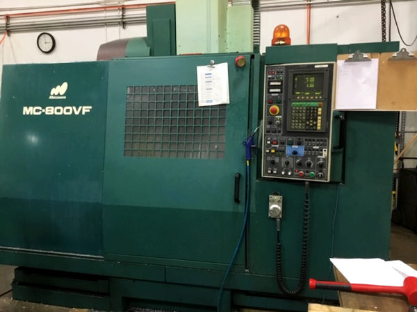 Matsuura MC-800VF 1992 5 axis CNC machine 5 Axis Trunnion