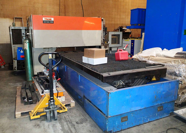 1000 Watt Mazak New Turbo-X48 CO2 Laser, 1994 (2017 Refurb.) - 4' X 8' Table