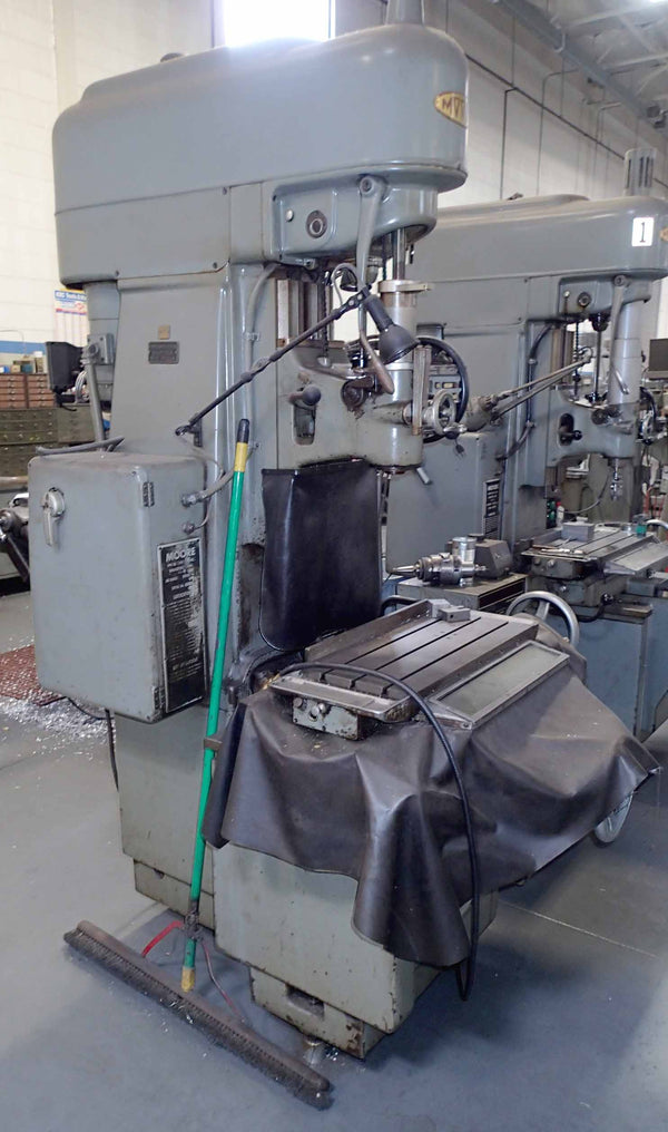 Moore No. 3 Jig Borer- Sony/ Anilam DRO, 2 Units Available