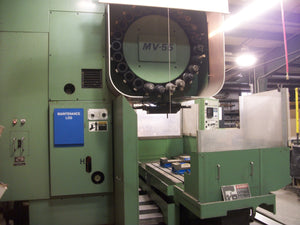 Mori Seiki MV-55 VMC, 1985 - Yasnac MX-1 Control, Under Power