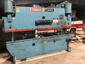 100 Ton x 10' Niagara HBM-100-8-10 Hydraulic Press Brake- 5/16""
