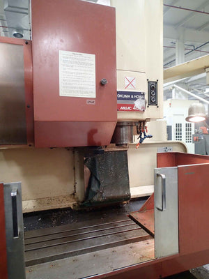 Okuma & Howa Millac M-40V Vertical Machining Center, 1992- 4th Axis