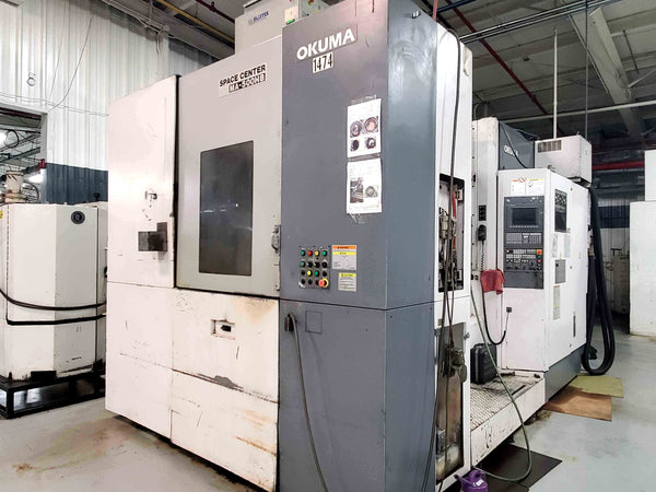 2005 Okuma MA-500HB Horizontal Machining Center 100 ATC OSP-E100M
