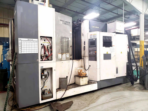 2004 Okuma MA-500HB Horizontal Machining Center Full B Axis, 60 ATC
