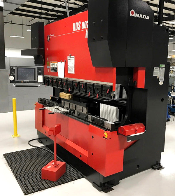 2004 Amada 80 Ton X 8ft CNC Press Brake HDS-8025-NT