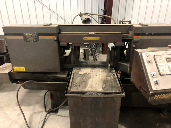 "2005 HEM H130HA-4 Horizontal Band Saw - 16"" H x 16"" W"