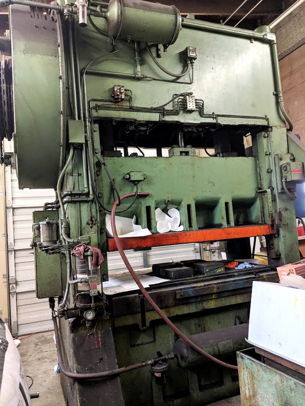 Bliss 150 Ton Press, Model S2-150-60-36