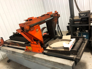 "2000 HEM V125HA-1-SS Vertical Band Saw - 18"" H X  24"" V @ 90°"