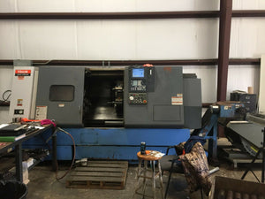 2000 Mazak Quick Turn 350 - Mazatrol PC Fusion Control - Chip Conveyor