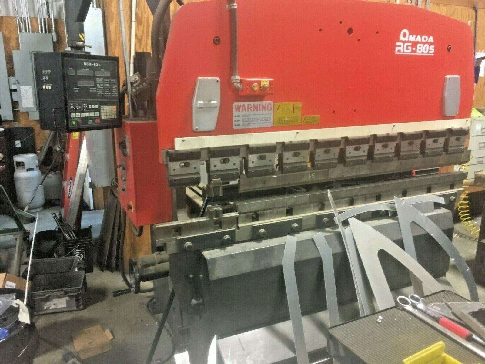 Amada RG-80S Press Brake 88 Tons x 6 5ft, NC9 EXII Control, Pre Removal  Price!!