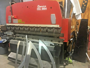 Amada RG-80S Press Brake 88 Tons x 6.5ft, NC9 EXII Control, Pre Removal Price!!